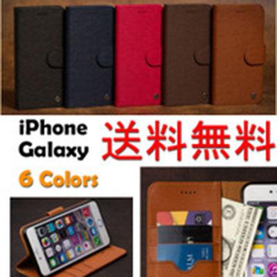 [해외] 【Film get on case purchase! 】 Luna notebook case Galaxy S3 / α S4 S5 Galaxy S6 S6 edge Galasy S7 edge Galaxy A8 Note3 Note Edge iPhone 6 iPhone 6s iPhone 6 Plus iPhone 6s Plus iPhone 7 iPhone 7 Plus C