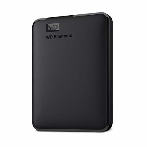 [무료배송]Western Digital WD 5TB Elements Portable External Hard Drive HDD  USB 3.0  Compatible with PC