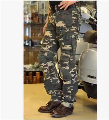 [해외] R2M high-speed three-dimensional cut motorcycle Harley motorcycle pants denim Slim pants