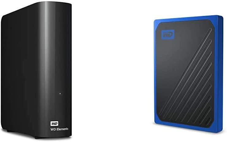[해외] 웨스턴 디지털 (WESTERN DIGITAL) 【세트 구매] WD 데스크탑 HDD 6TB USB3.0 WD ELEMENTS DESKTOP 외장형 하드 디스크 / WDBBKG0060