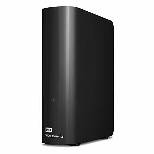 [무료배송][추가금 없음] WD 10TB 데스크탑 하드 드라이브  USB 3.0 - WDBWLG0100HBK-NESN Western Digital WD 10TB Elements D