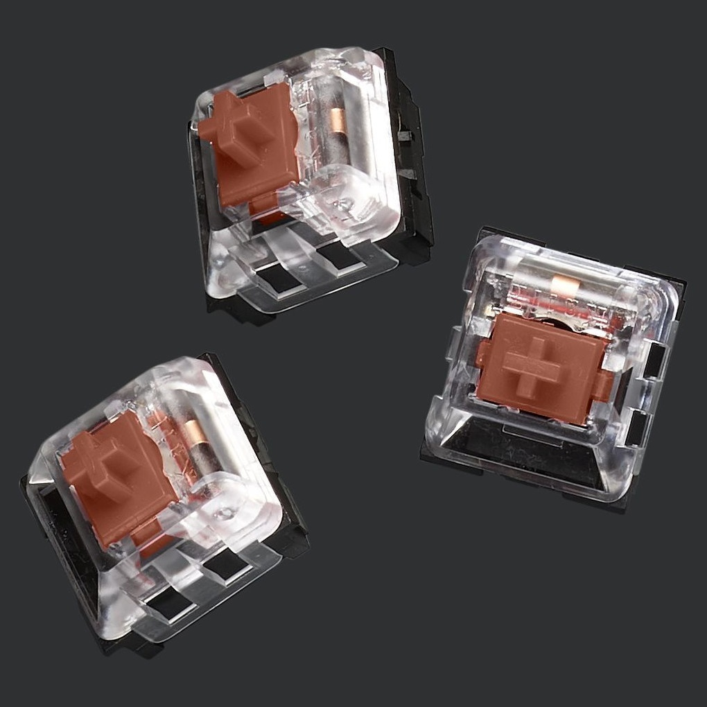 [해외] Logitech G Pro X Mechanical Gaming Keyboard Switch Kit Brown Tractile