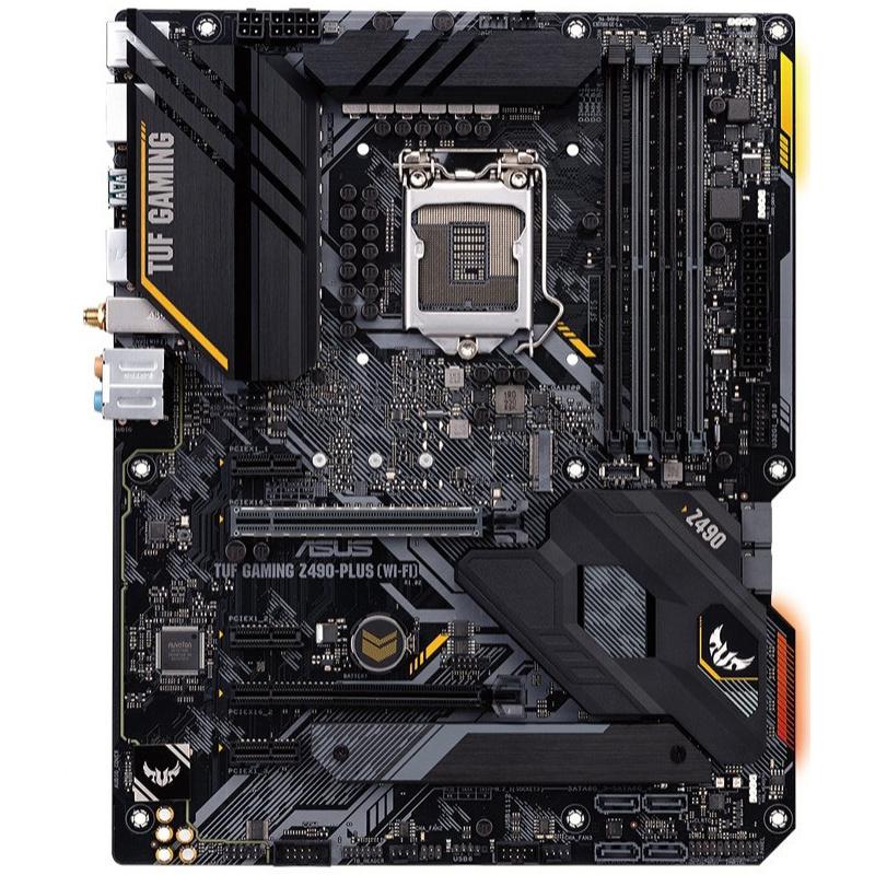 [해외] ASUS TUF GAMING Z490-PLUS WI-FI Motherboard LGA 1200 DDR4 Z490 NEW