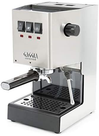 [무료배송]Gaggia RI9380/46 Classic Pro Espresso Machine  Solid  Brushed Stainless Steel