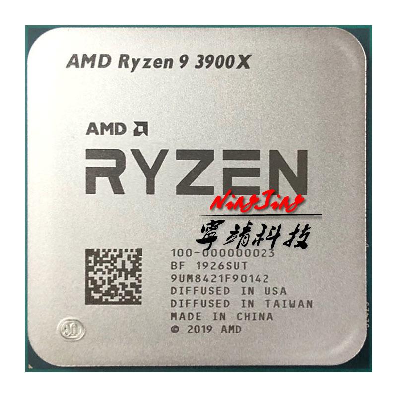 [해외] AMD Ryzen 9 3900X R9 3900X 3.8 GHz Twelve-Core 24-Thread CPU Processor 7NM L364M 100-000000023 Sock