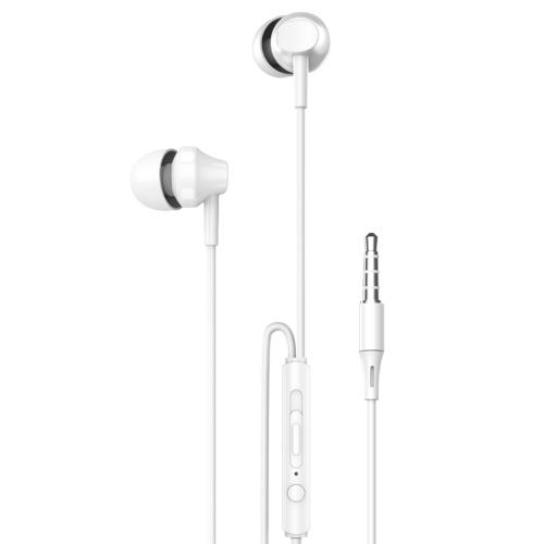 [해외] ROCK ES01 Exquisite Design In ear Wired Stereo Earphone (White)