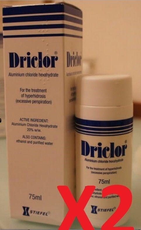 [해외] Lot of 2 Driclor Antiperspirant Roll 75ml New in box Free Shipping